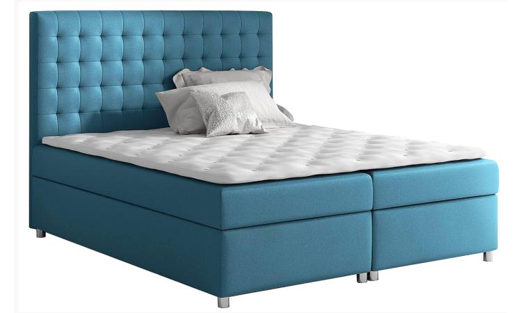 Boskie sny i łóżka w kolorze niebieskim